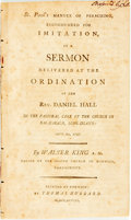 Books:Americana & American History, Walter King. St. Paul's Manner of Preaching, Recommended forImitation, in a Sermon Delivered at the Ordination of the R...