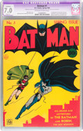 Golden Age (1938-1955):Superhero, Batman #1 (DC, 1940) CGC Apparent FN/VF 7.0 Slight (P) Off-white to white pages....