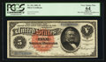 Large Size:Silver Certificates, Fr. 261 $5 1886 Silver Certificate PCGS Apparent Very Choice New64.. ...