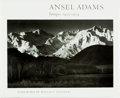 Books:Photography, Ansel Adams. Images 1923-1974. Foreword by Wallace Stenger. Boston: New York Graphic Society, [1974]. First edition....