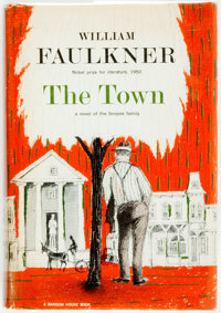 William Faulkner. The Town. New York: Random House, 1957. First printing. Octavo. Pu