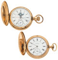 Timepieces:Pocket (post 1900), Columbus & Private Label Olney Pocket Watches. ... (Total: 2Items)