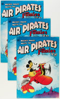Bronze Age (1970-1979):Alternative/Underground, Air Pirates Funnies #1 Group (Hell Comics Group, 1971) Condition: Average NM.... (Total: 6 Comic Books)