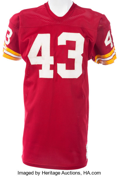 check out 6fa1d 210b9 1971-76 Larry Brown Game Worn Washington Redskins Jersey ...