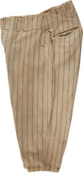 Baseball Collectibles:Uniforms, 1937 Lou Gehrig Game Worn New York Yankees Uniform Pants....