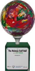 Golf Collectibles:Miscellaneous, 2012 LeRoy Neiman Ryder Cup Original Artwork--His Final Creation!...