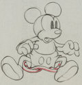 Animation Art:Production Drawing, Mickey's Garden Mickey Mouse Production Drawing #29Animation Art (Walt Disney, 1935)....