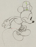 Animation Art:Production Drawing, The Dognapper Mickey Mouse Production Drawing Animation Art(Walt Disney, 1934)....