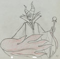 Animation Art:Production Drawing, Sleeping Beauty Maleficent Production Drawing #71 AnimationArt (Walt Disney, 1959)....
