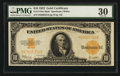 Large Size:Gold Certificates, Fr. 1173 $10 1922 Mule Gold Certificate PMG Very Fine 30.. ...