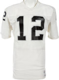 Football Collectibles:Uniforms, 1976-79 Ken Stabler Game Worn Oakland Raiders Jersey, MEARS A10. ...