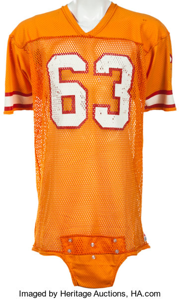 1df3f7e96 1980-84 Lee Roy Selmon Game Worn Tampa Bay Buccaneers Jersey