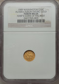 Expositions and Fairs, 1909 Alaska-Yukon-Pacific Exposition, 1/2 DWT, MS64 NGC. Gold. Hart's Coins of the West....