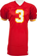 Football Collectibles:Uniforms, 1972-73 Jan Stenerud Game Worn Kansas City Chiefs Jersey, MEARS A10....