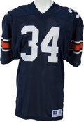 Football Collectibles:Uniforms, 1983-85 Bo Jackson Game Worn Auburn Tigers Jersey, MEARS A10 - Multiple Team Repairs and Heavy Wear!...