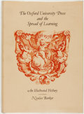Books:Books about Books, [Books about Books]. Nicolas Barker. The Oxford University Press and the Spread of Learning. An Illustrated History 1478...