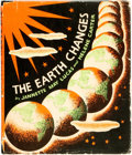 Books:Children's Books, Jannette May Lucas and Helene Carter. The Earth Changes.Lippincott, 1937. Quarto. Publisher's cloth and original du...