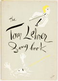 Books:Music & Sheet Music, Tom Lehrer. The Tom Lehrer Song Book. New York: Crown Publishers, [1957]. Fifth printing. Octavo. Publisher's bindin...