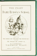 Books:Literature Pre-1900, [Thomas Nast] Henry William Pullen. The Fight at Dame Europa'sSchool. With 33 illustrations by Thomas Nast. New Yor...