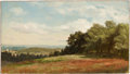 Fine Art - Painting, American:Antique  (Pre 1900), MARCUS WATERMAN (American, 1834-1914). Jackson, NewHampshire, 1861. Oil on canvas. 7-3/4 x 13-3/4 inches (19.7 x34.9 c...