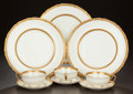 Ceramics & Porcelain, British:Modern  (1900 1949)  , A FORTY-EIGHT PIECE ENGLISH PORCELAIN SERVICE IN THEBALMORAL PATTERN, Royal Doulton, Lambeth, England, circa 19...(Total: 48 Items)