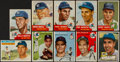 Baseball Cards:Lots, 1952 - 1957 Topps New York Yankees Card Collection (51) With '53Mantle. ...