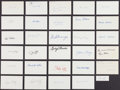 Football Collectibles:Others, Football Legends Signed Index Cards Lot of 30....