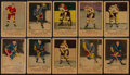 Hockey Cards:Lots, 1951 & 1952 Parkhurst Hockey Card Collection (76). ...