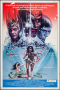 "Movie Posters:Fantasy, The Sword and the Sorcerer & Other Lot (Group 1, 1982). OneSheets (2) (27"" X 41""). Fantasy.. ... (Total: 2 Items)"