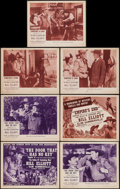 """The Valley of Vanishing Men (Columbia, 1942). Lobby Card Set of 4 (11"""" X 14"""") Chapter 15 --""""Empire's End..."""