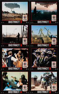 "District 9 (Tri-Star, 2009). Lobby Card Set of 8 (11"" X 14""). Science Fiction. ... (Total: 8 Items)"