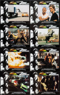 "Movie Posters:Action, The Fast and the Furious (Universal, 2001). International Lobby Card Set of 8 (11"" X 14""). Action.. ... (Total: 8 Items)"