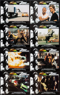 """The Fast and the Furious (Universal, 2001). International Lobby Card Set of 8 (11"""" X 14""""). Action. ... (Total:..."""