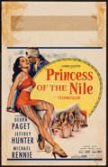 "Movie Posters:Adventure, Princess of the Nile (20th Century Fox, 1954). Window Card (14"" X22""). Adventure.. ..."