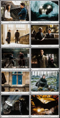 "Movie Posters:Action, Batman Begins (Warner Brothers, 2005). Lobby Card Set of 10 (11"" X14""). Action.. ... (Total: 10 Items)"