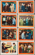 "Movie Posters:Film Noir, A Bullet for Joey (United Artists, 1955). Lobby Card Set of 8 (11""X 14""). Film Noir.. ... (Total: 8 Items)"