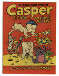 Bronze Age (1970-1979):Cartoon Character, Casper the Friendly Ghost American Dental Association Giveaway FileCopy (Harvey, 1974) Condition: NM+....
