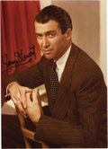 "Movie/TV Memorabilia:Autographs and Signed Items, James Stewart Signed Photo. A color 5"" x 7"" photo of Stewart,signed by him in black felt tip. In Excellent condition.... (Total:1 Item)"
