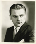 "Movie/TV Memorabilia:Autographs and Signed Items, James Cagney Signed Photo. A b&w 8"" x 10"" photo of the WhiteHeat star, signed by him in black felt tip. In Excellent co...(Total: 1 Item)"