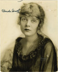 "Movie/TV Memorabilia:Autographs and Signed Items, Blanche Sweet Signed Photo. A vintage b&w 7"" x 8.5"" photo ofthe silent-era movie star signed by her in black ink. In Fine t...(Total: 1 Item)"
