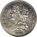Patterns: , 1838 P50C Half Dollar, Judd-73 Restrike, Pollock-77, R.5, PR64 NGC.The obverse, once attributed to Chief Engraver William ...