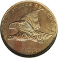 Patterns: , 1858 P1C Flying Eagle Cent, Judd-191, Pollock-233-234, R.5, PR65 NGC. This transitional pattern combines the regular dies o...