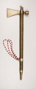 American Indian Art:Weapons, A SOUTHERN PLAINS PIPE TOMAHAWK. . c. 1900. ...
