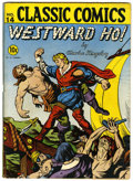 Golden Age (1938-1955):Classics Illustrated, Classic Comics #14 Westward Ho! (Gilberton, 1943) Condition:VG+....