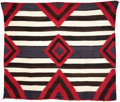 American Indian Art:Textiles, A NAVAJO TRANSITIONAL WEAVING. . c. 1895...