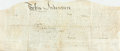 Books:Americana & American History, Land Indenture. Pennsylvania. June 1, 1795. Recording sale of townlot 380 and house on Queen St. in Reading, Pennsylvania b...