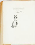Books:Art & Architecture, Cecil Aldin. SIGNED/LIMITED WITH ORIGINAL DRAWING. Old Manor Houses. London: William Heinemann, [1923]. Edition limi...