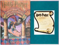 Books:Children's Books, J.K. Rowling. SIGNED BOOKPLATE. Harry Potter and the Sorcerer'sStone. Arthur A. Levine, [1998]. Later printing. S...