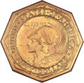 Commemorative Gold, 1915-S $50 Panama-Pacific 50 Dollar Octagonal MS61 NGC....