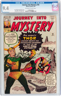 Journey Into Mystery #92 (Marvel, 1963) CGC NM 9.4 Off-white to white pages